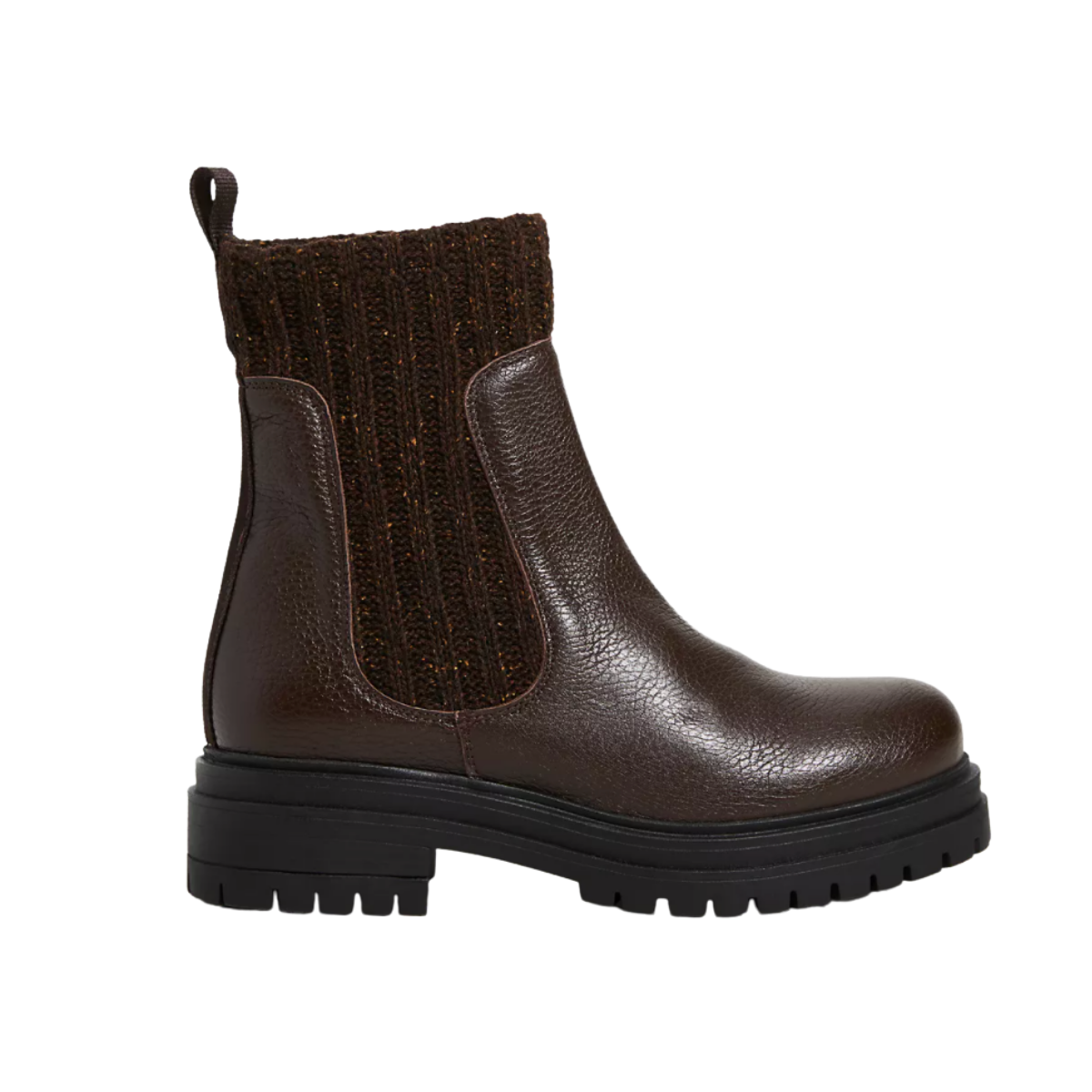 Anthropology Knit Chelsea Boots