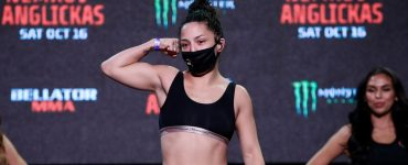 Bellator 268 video: Benson Henderson's wife, Maria Henderson, submits opponent in 40 seconds