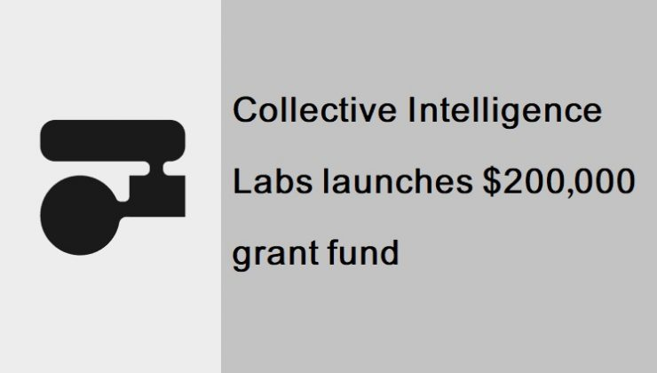Collective Intelligence Labs launches $200,000 grant fund